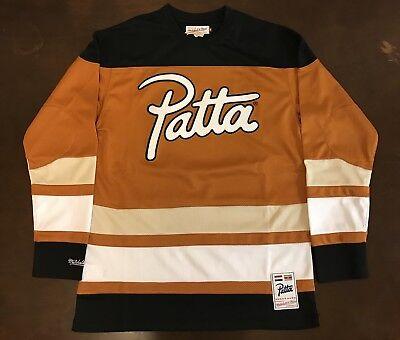 4485edc5 Details about Rare Mitchell & Ness Patta Hockey Jersey
