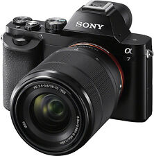 Open-Box: Sony - Alpha a7 Full-Frame Mirrorless Camera with 28-70mm Lens - Black