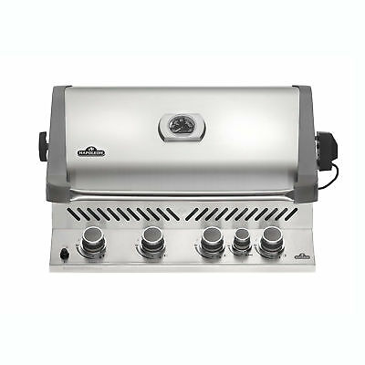 Napoleon 31'' Prestige 500 Built In Stainless Steel 4 Burner Gas Grill Head