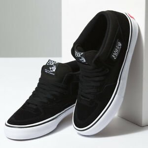 Vans-Shoes-Half-Cab-PRO-Black-White-USA-SIZE-Steve-Caballero-Skateboard-Sneakers