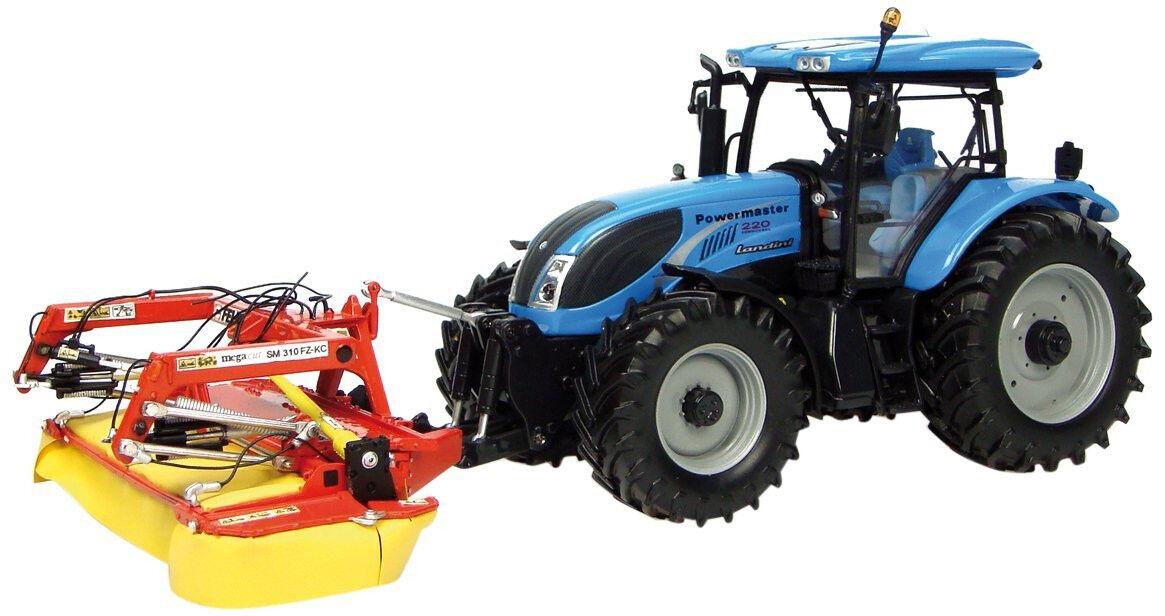 disfrutando de sus compras UH7107 - - - Tracteur LANDINI Powermaster équipé de la faucheuse FELLA SM310 - 1 32  venta caliente en línea