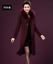 Winter-Elegant-Women-Cashmere-Wool-Blend-Trench-Overcoat-Fur-Collar-Long-Coats thumbnail 7