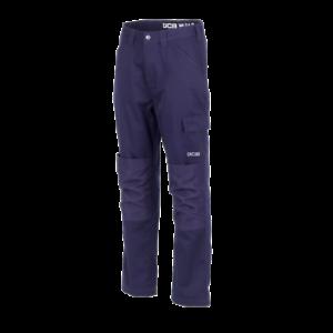 JCB Essential Cargo Work Trousers Navy (Various Sizes) Men's Trade Hardwearing