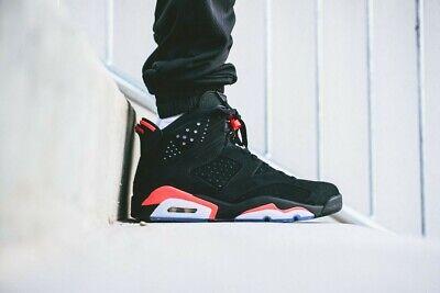 946f35365314 Nike Air Jordan Retro 6 Black Infrared OG 384664 06 All-Star Men s  Basketball 10