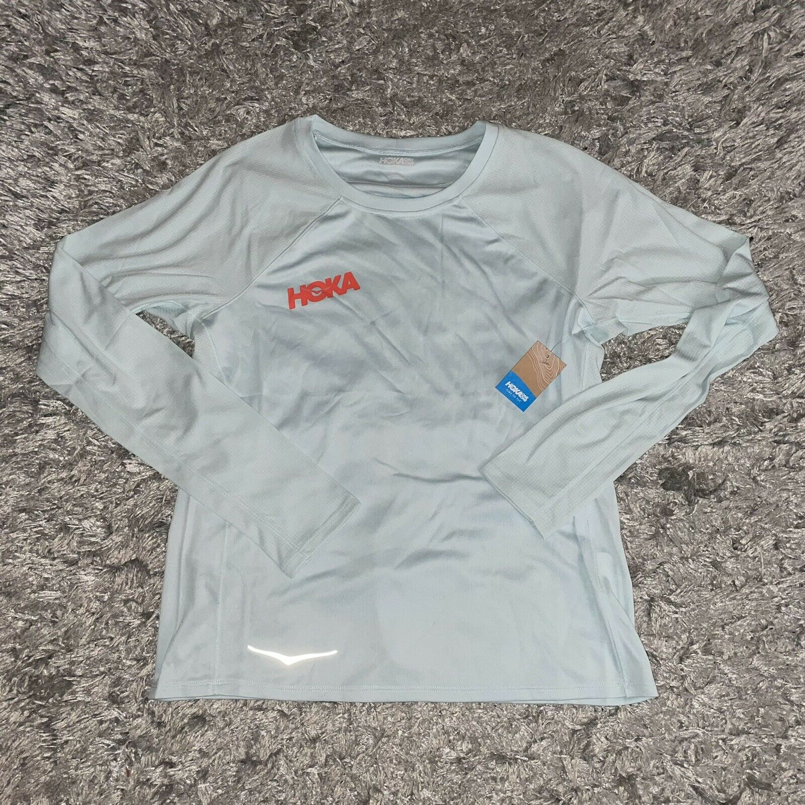 Hoka One One women's running shirt long sleeve pullover - size XS
