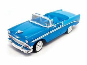 CHEVROLET Bel Air - 1956 - blue - Lucky Die Cast 1:18