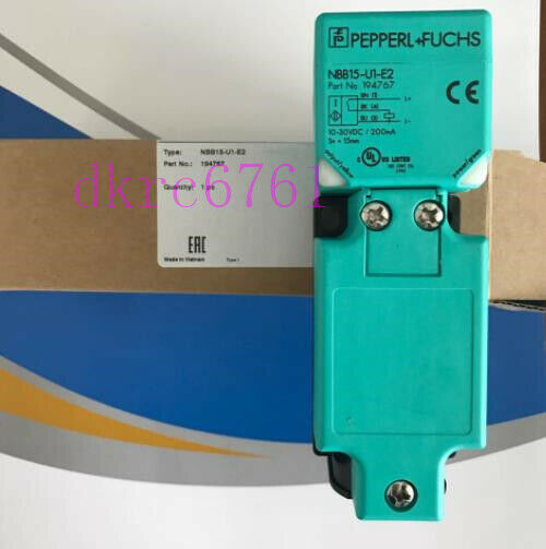 ONE NEW Pepperl + Fuchs Inductive Sensor NBB15-U1-E2