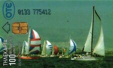 368 SCHEDA TELEFONICA PHONECARD USATA GRECIA GREECE AEGEAN SEA