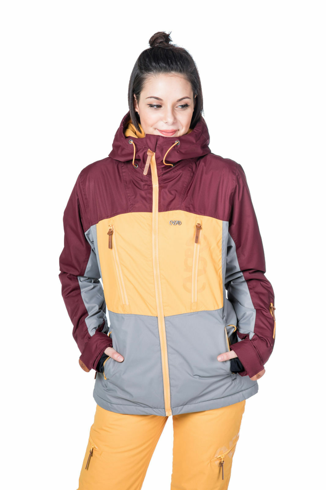 Csnrd Snowboard Mujer Chaqueta Esquí Alexis Chaqueta Uva