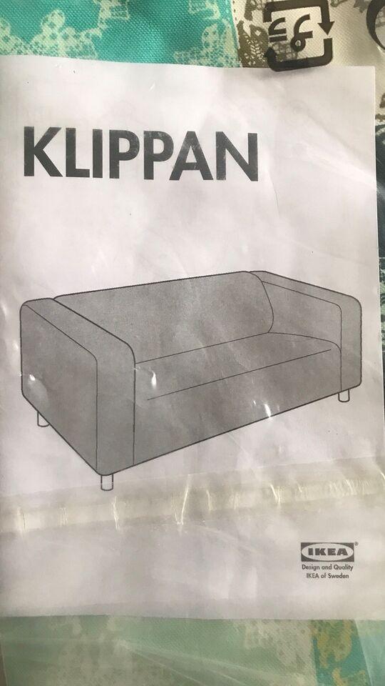 Tilbehør til sofa, bomuld, 2 pers.