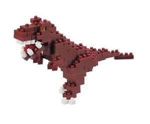 Tyrannosaurus-Rex-Level-2-3-D-Nanoblock-110-Pieces-Mini-Blocks-Kawada-14671