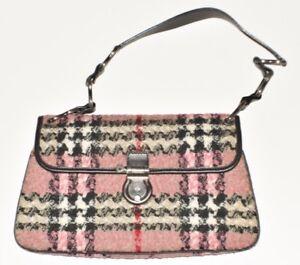 5484d1ae2ea Authentic Burberry. Nova Check Tweed. Pink, black, & multicolored ...
