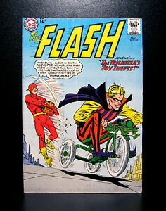 COMICS-DC-The-Flash-152-1965-Trickster-app-RARE