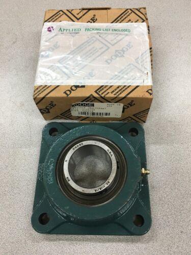 NEW IN BOX DODGE 124213 4-BOLT FLANGE BEARING 1-15//16 BORE F4B-SC-115