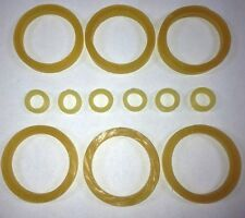 """10 COUNT x 1//8 W 1/"""" I.D - 1 1//4 O.D RUBBER TUBING FOR DOLL REPAIR BANDS"""