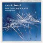 Antonio Rosetti: String Quartets, Op. 6, Nos. 1-6 (CD, Feb-1996, CPO)
