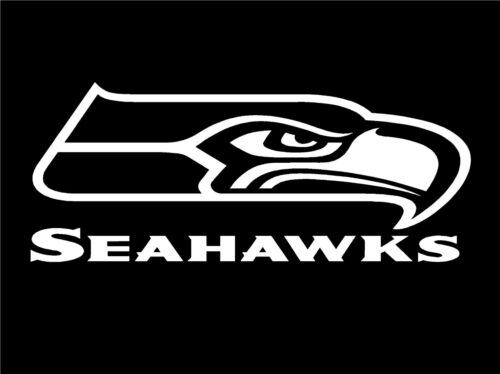 """SEATTLE SEAHAWKS DECAL STICKER    FREE US SHIP  Many Colors 8/"""" x 3/"""""""