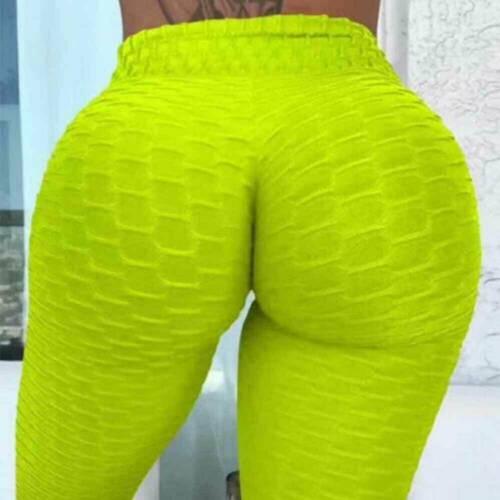Women Anti-Cellulite Yoga Pants Butt Lift Gym Sport Leggings Push Up Trousers UK
