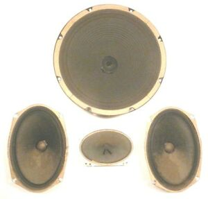 Details about ROWE JAN part sale: Tested / Working SPEAKER SYSTEM - 1-12