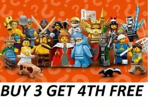 LEGO-MINIFIGURES-SERIES-15-71011-PICK-CHOOSE-YOUR-OWN-BUY-3-GET-1-FREE