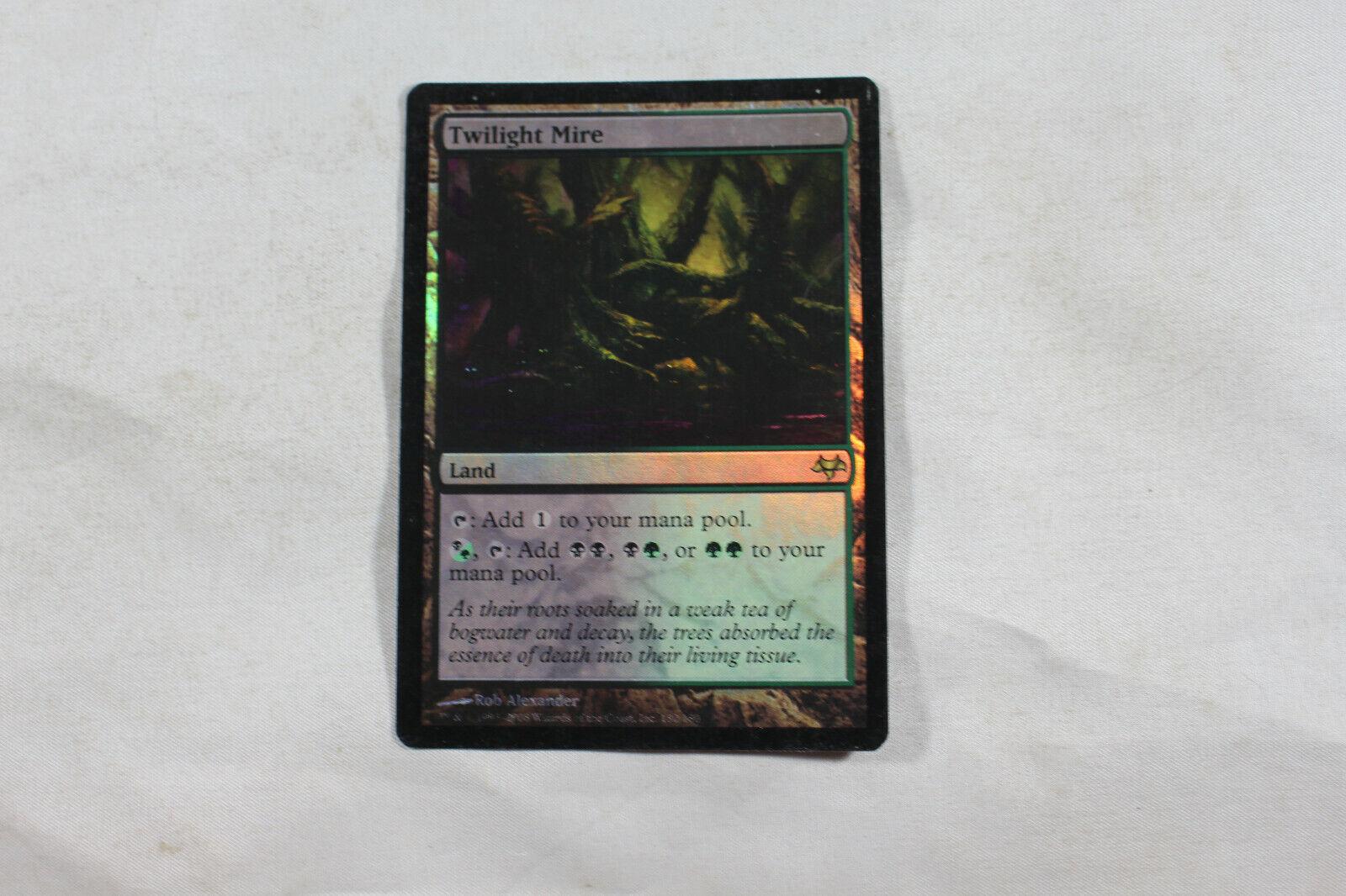 Twilight Mire FOIL from Eventide X1 NM Near Mint MTG Magic
