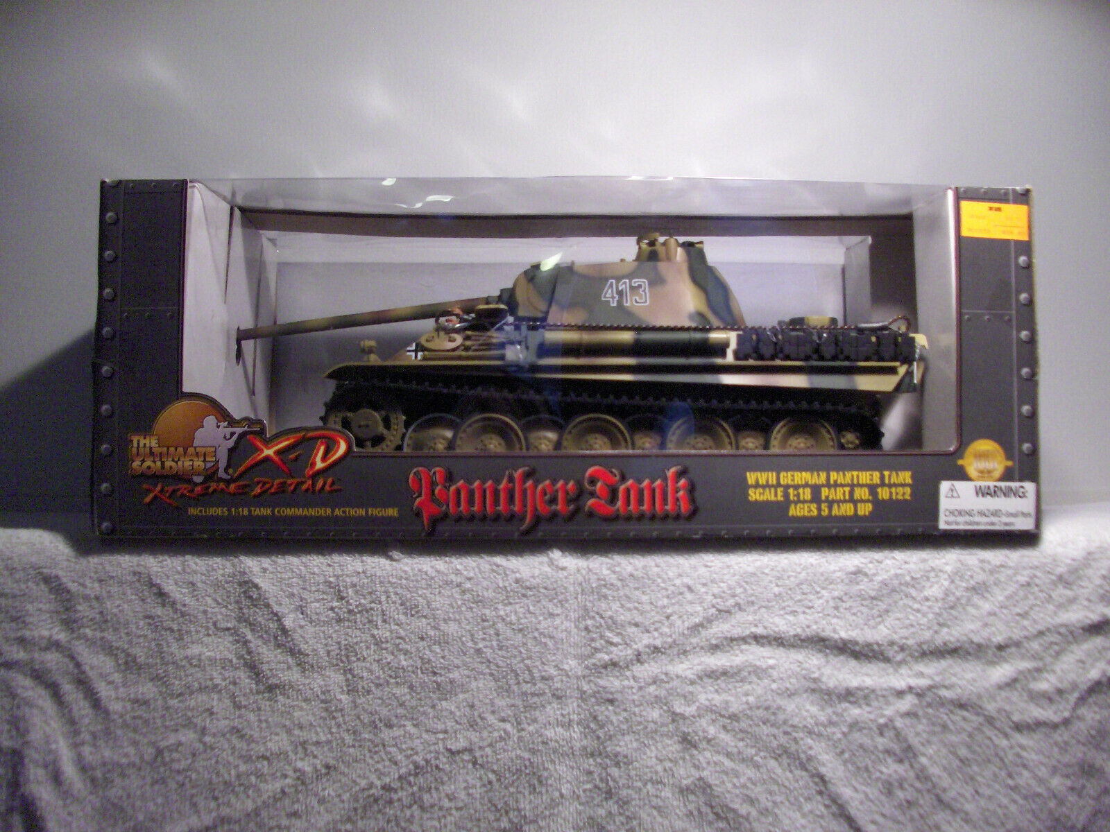Ultimate Soldier Xtreme Detail WWII German Panther Tanks 1 18 Scale NIB