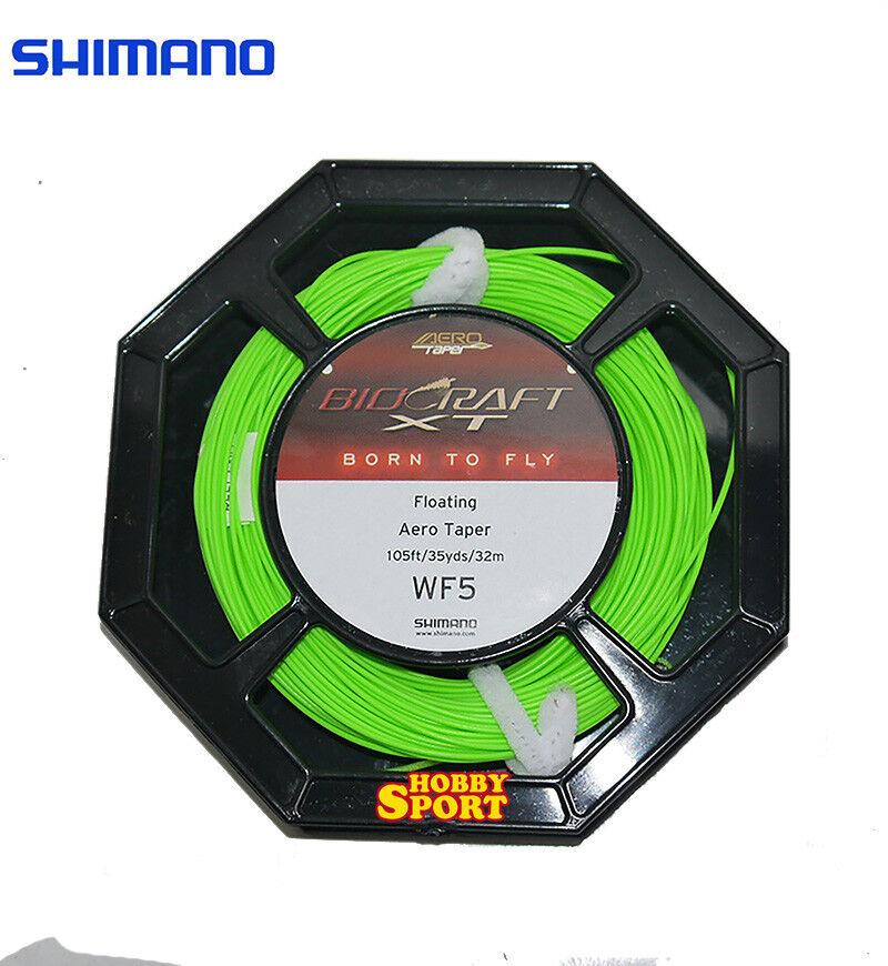 BIOCRAFT SHIMANO CODA  DI TOPO  CODA WF5   32 MT COL. verde FLY FISHING f49ff3