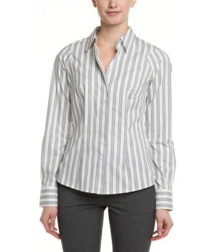 White Stripes Outfit Women's L Work Designer Blouse k Bennett Bnwt Navy London 7PzOOq