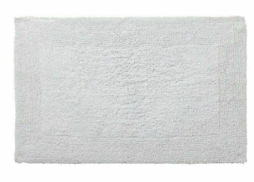 Argos Home Reversible Bath Mat- White