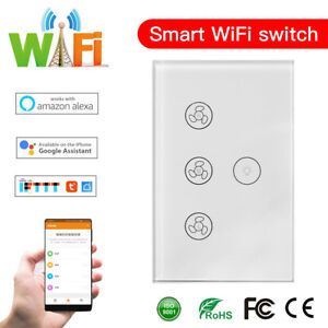 WIFI-Smart-Ceiling-Fan-Wall-Switch-Touch-Panel-Fit-For-Alexa-Google-Home