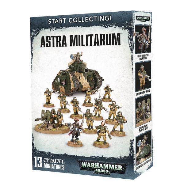 Warhammer 40k - sammeln astra militarum - brand new in box - 70-47