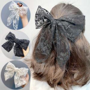 Women-Hairpins-Clip-Lace-Bow-Hair-Barrette-Lolita-Girls-Hairpin-Hair-Accessories