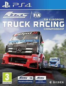 FIA-European-Truck-Racing-Championship-For-PS4-New-amp-Sealed