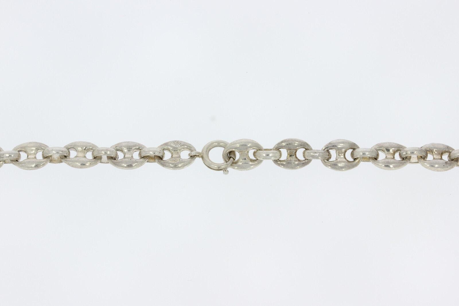 Sr611-925er argentoo argentoo argentoo catena catena Italia lungo 80 cm di larghezza 8 MM peso 81 8 grammi d1f524