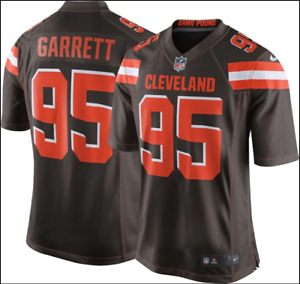 Nike NFL Cleveland Browns Myles Garrett 95 American Football Jersey 679279 270