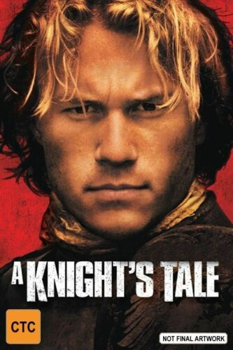 1 of 1 - A Knight's Tale-DVD VERY GOOD CONDITION FREE POSTAGE ALL OVER AUSTRALIA REGION 4