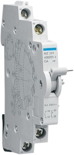 HAGER MZ201 Contact auxiliaire CA 1O+1F 6A 240V AC