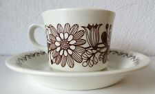 ARABIA  Finland Elina Vintage Coffee Cup and Saucer, Excellent Condition