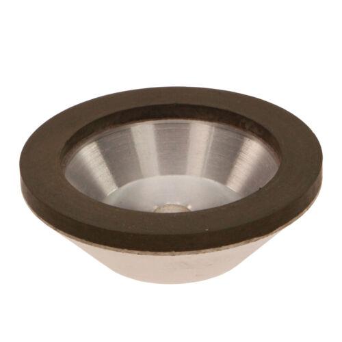 75mm 3/'/' Diamond Grinding Wheel Cup Grit 150 75x25 x10mm Cutter Grinder