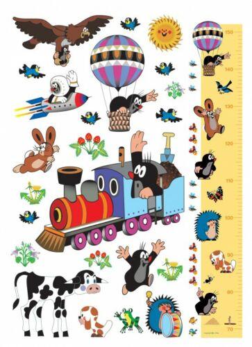 #91459 Der Kleine Maulwurf Journey Poster-Sticker Wand-Tattoo 85x65cm