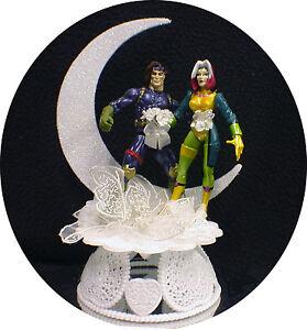 Marvel Comic Wedding Cake Toppers