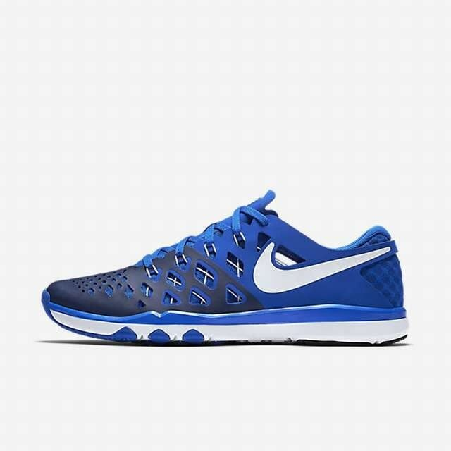 MEN'S NIKE TRAIN SPEED 4 chaussures Taille 14 hyper cobalt blanc Bleu 843937 402