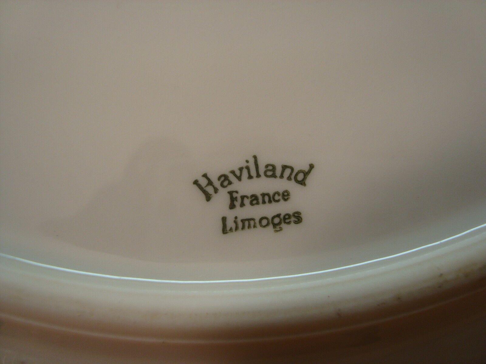 Haviland Limoges France Torse Torse Torse   Ladore   gRosar Teller Kuchenplatte  ca. 32 cm c278eb