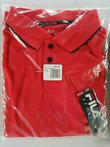 5d636241cb027 Men's FILA SPORT GOLF Pro Core Performance Polo Shirt ~ Sizes Medium ...