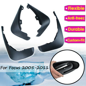 Molded-Mudguards-Mud-Flaps-For-Ford-Focus-mk2-05-11-Splash-Guards-Front-Rear