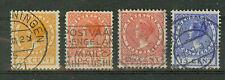 Niederlande Briefmarken 1924 Freimarken Mi.Nr.153-56