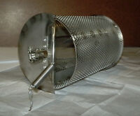 1 LB CAPACITY COFFEE PEANUT CHILE CACAO ROASTER STAINLESS BBQ DRUM