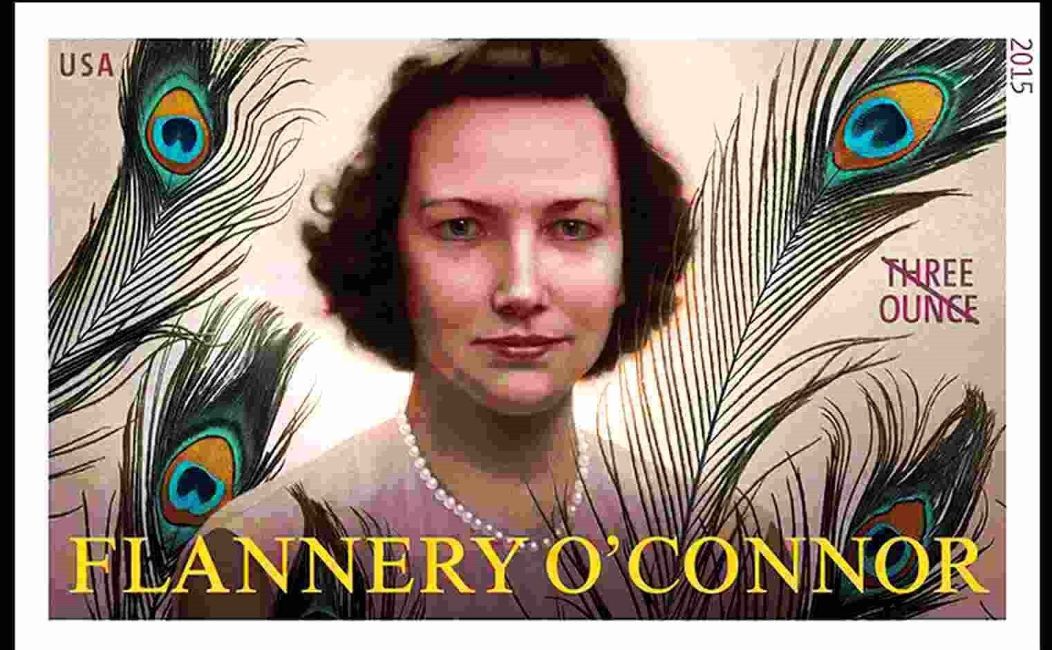 2015 93c Flannery O'Connor, Literary Arts, Imperforate