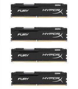 16GB//32GB//64GB 2666MHz Desktop DDR4 For Kingston HyperX FURY CL16 1.2V DIMM RHN