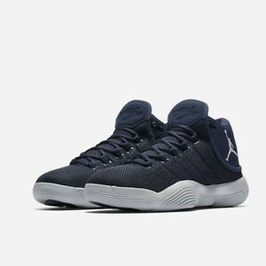 f7c26f3e0a9c8 Nike Jordan Mens Super Fly 2017 TB 921204-401 Midnight Navy Pr ...